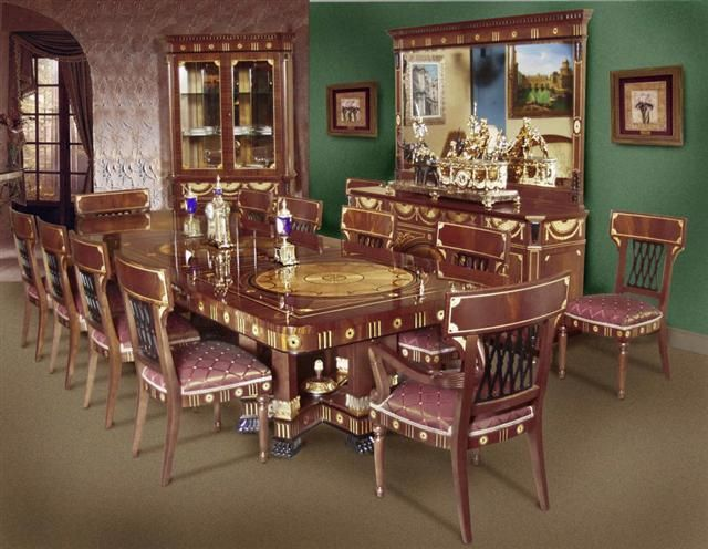 image detail for renaissance dining room luxury furniture and lighting italian interior de