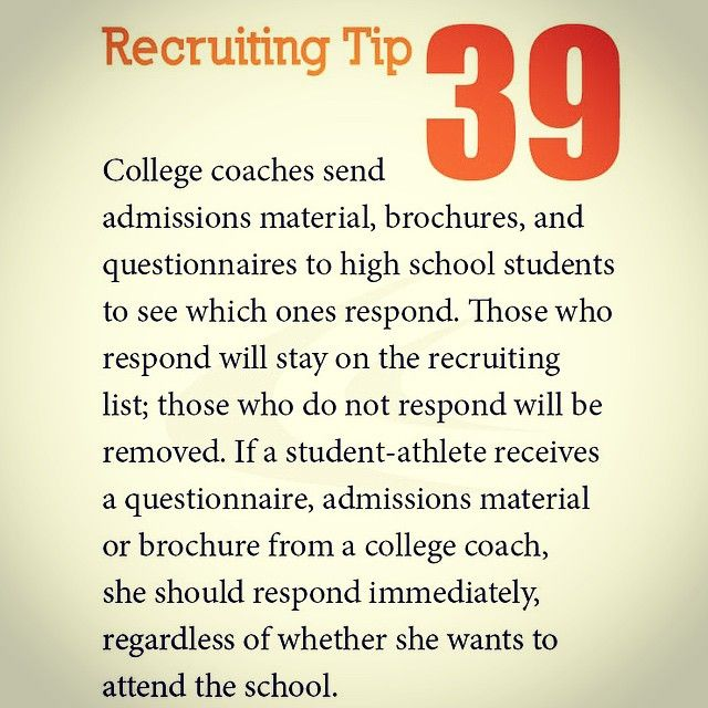 96 best sports resumes  recruiting flyers images on