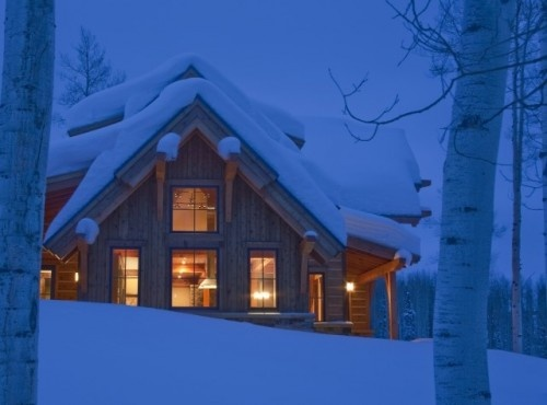 Wish I was in this cabin