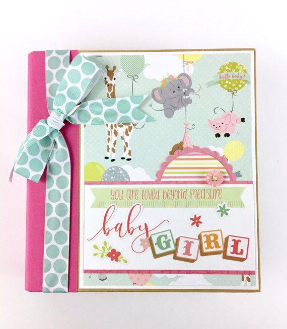 Kit de Mini álbum bebé niña Scrapbook o empacadora regalos
