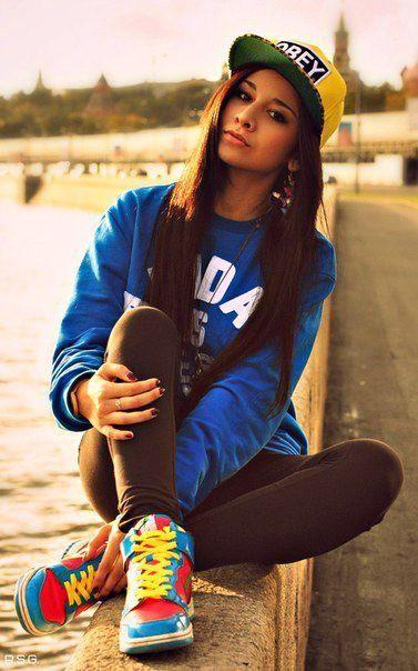 Girls who rock hats