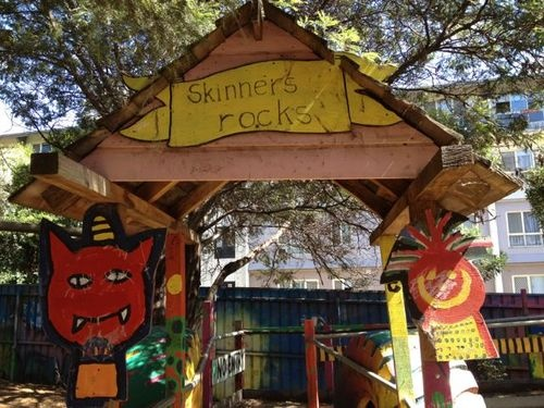 South Melbourne playground - Skinners - school holidays is the best time to visit Skinners has restricted hours during the school term, during the holidays you can visit all day