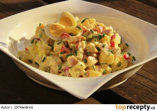 Jarní bramborový salát