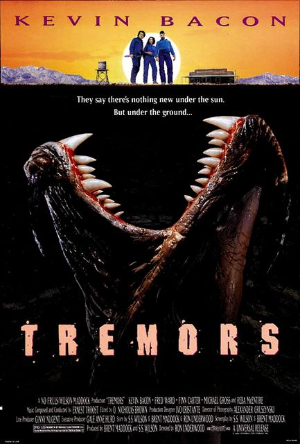 Tremors (1990) - Review, rating and Trailer.