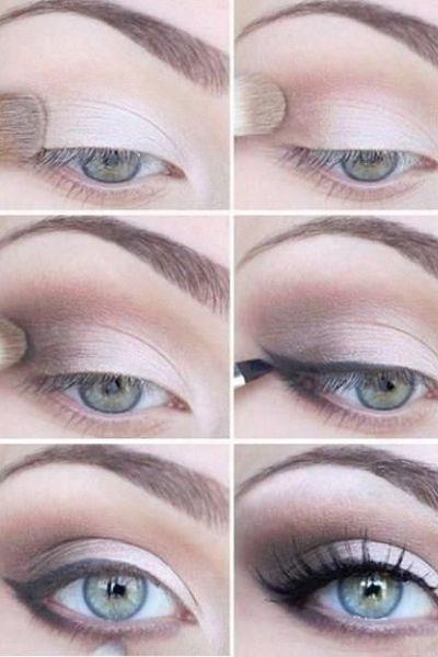 20 Beautiful Wedding Makeup Ideas from Pinterest | StyleCaster