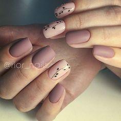 Uñas en tonos nude para cualquier ocasión #Nails #Uñas #Mani #Nude #Art