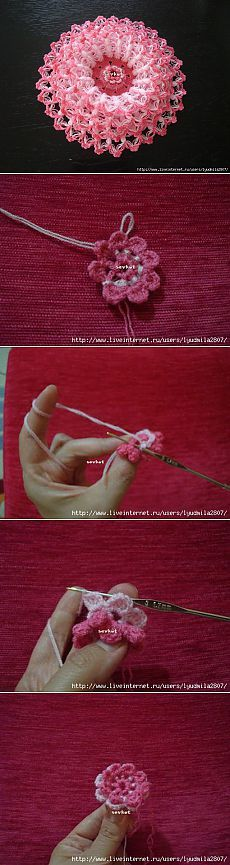 Цветы крючком | Записи в рубрике Цветы крючком | Дневник Lyudmila2807