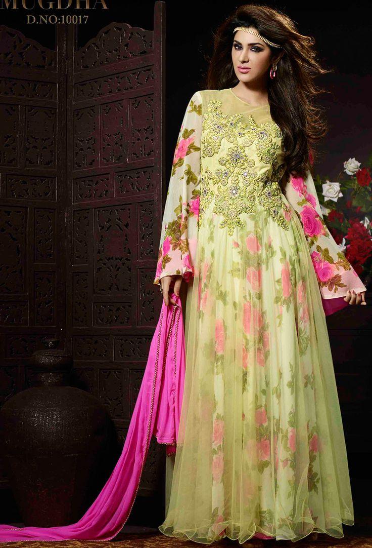 Designer salwar kameez mesmeric peach color net designer suit - Find This Pin And More On Net Salwar Kameez Indian Designer Salwar Suit