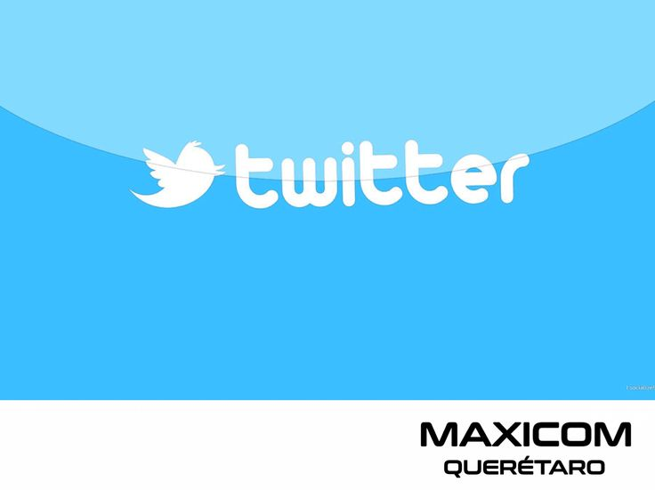 GESTIÓN DE REDES SOCIALES MAXICOM Twitter, te ofrece un sencillo servicio que puede ayudar a tu negocio a estar en contacto con seguidores, a través de su servicio de mensajería con un máximo de 140 caracteres por mensaje. Nuestra pasión, es el manejo de redes sociales, te invitamos a solicitar informes a los teléfonos 4423859336 y 4424265466. #gestionderedessociales