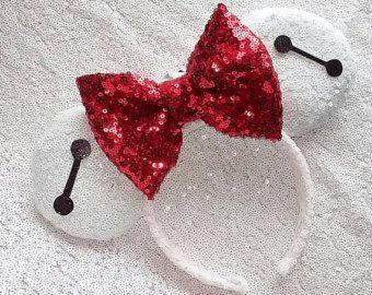 big hero 6 mickey mouse ears – Etsy