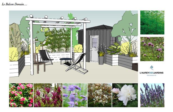 Les 103 meilleures images propos de l 39 aurey des jardins sur pinterest - Paysagiste terrasse paris ...