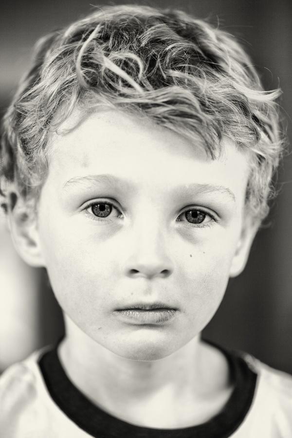 A serious portrait