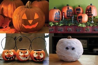 Cómo decorar calabazas para Halloween