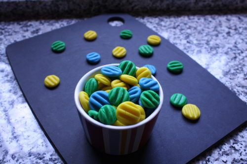 Mentine colorate - Mint patties