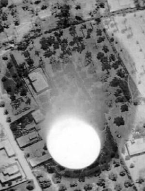 What Is a Neutron Bomb?: This is a photo of a Chinese test of a neutron bomb.