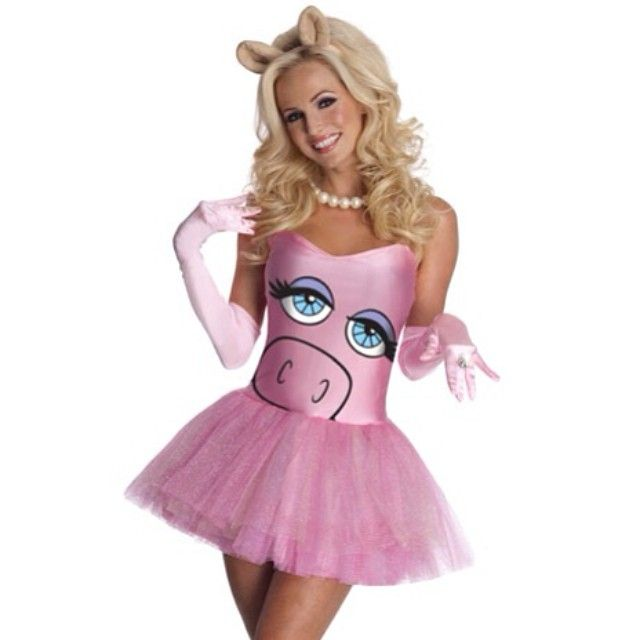The Muppets - Miss Piggy Sexy Women's Costume
