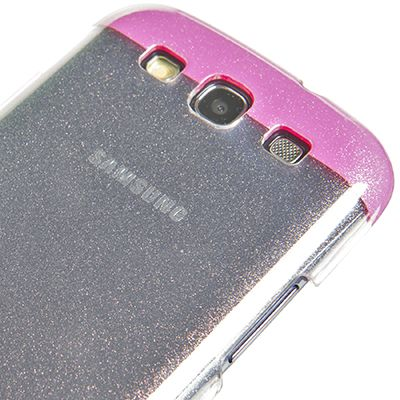 Glitty Cover for #GalaxySIII with fuchsia #glitter Match the cover Glitty best suited to your #look