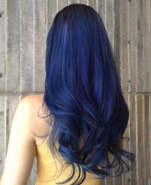 Blue Hair.....Don't Care  @jerry.yai