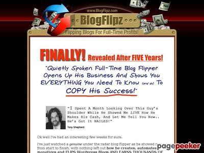 cool BlogFlipz   Blog Flipping Training System