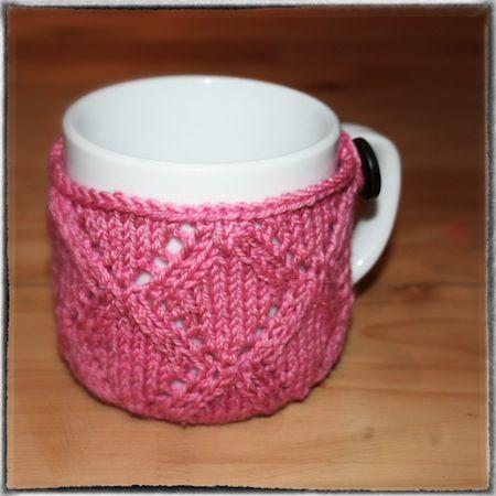 diamond mug cozy
