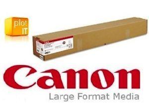 a canon gran formato satin 42 190gm 1067mm x 30m rollo papel de inyeccion de tinta