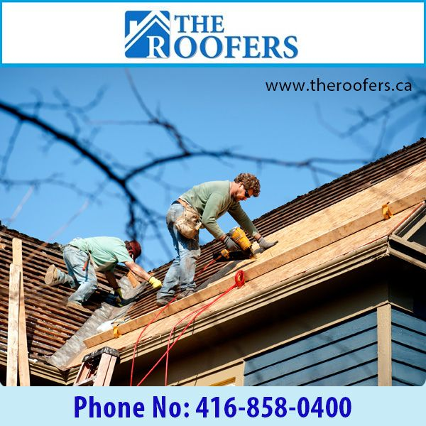 Upgrade or replace your old damaged roof with The Roofers