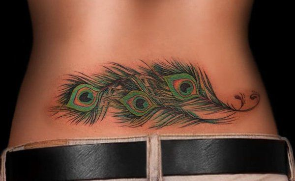 2 Lower Back Tattoo Designs For Women