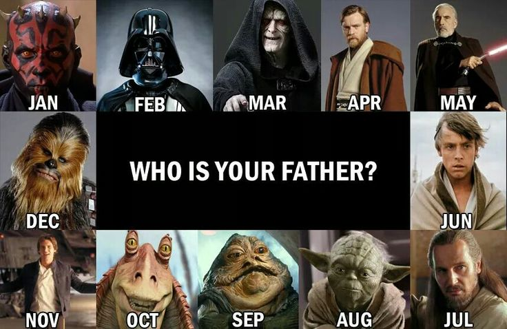 I'm pinning this mostly because my brother was born in October. Lol. and my dad is OBI WAN KENOBI!!!! Yisss!!!!