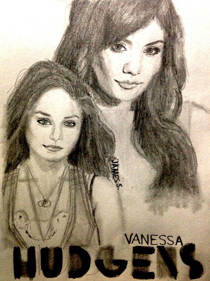 Celebrity Sketch of Vanessa Hudgens