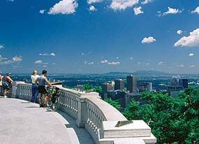 Inaugurated in 1876, the splendid Mount Royal Park in Montreal was designed by Frederick Law Olmsted.