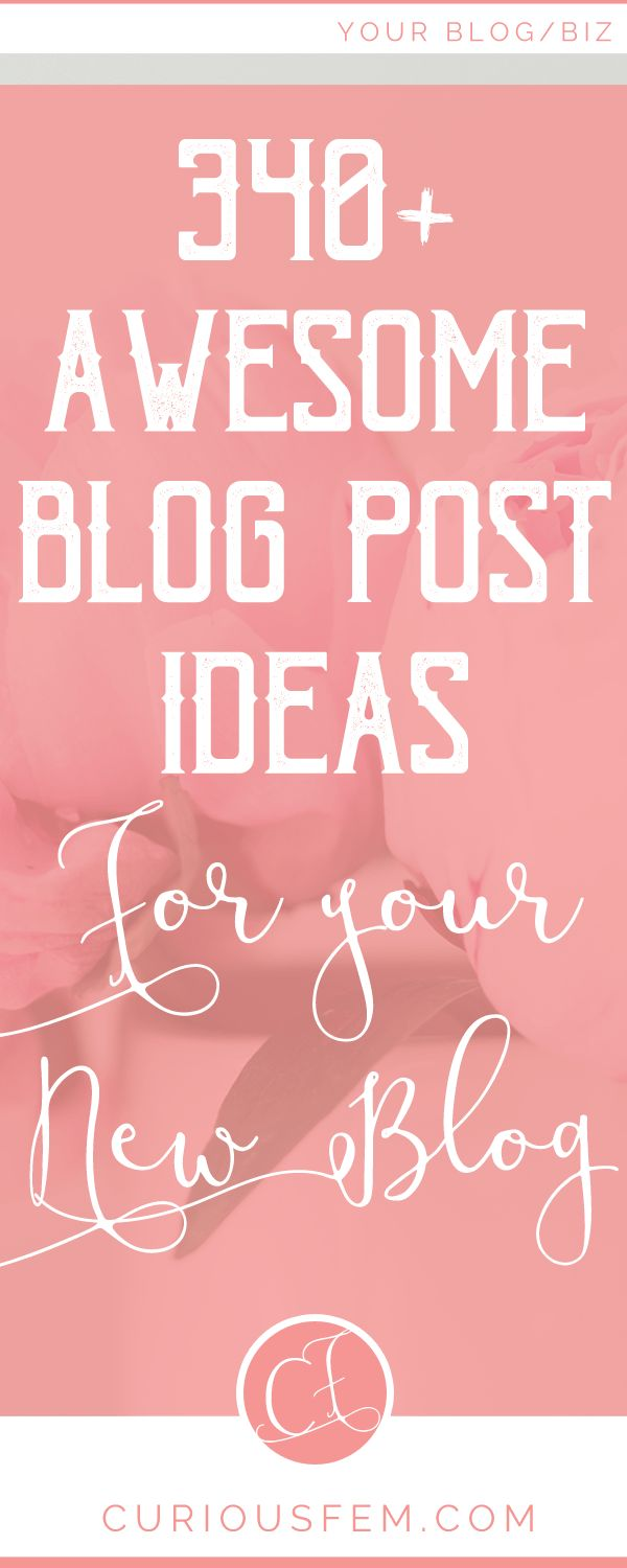 340 plus awesome blog post ideas for your new blog - are you starting a new blog, but have no ideaq what you want to write about? then read this post for some awesome blog post ideas. This list is great for lifestyle bloggers, food bloggers, homesteading bloggers, etc. #blog #blogging #bloglife #bloggingtips #blogger