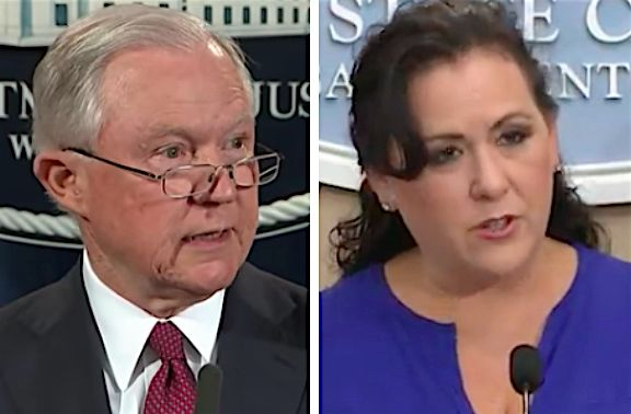 """California State Assembly Woman Lorena Gonzalez Fletcher called out Jeff Sessions for characterizing immigrants as illiterates 