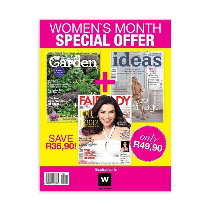 Womans Month Special Offer
