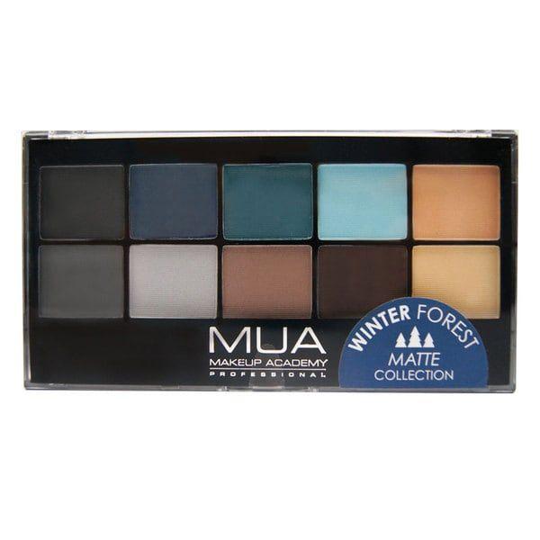 MUA Eyeshadow Palette - Winter Forest