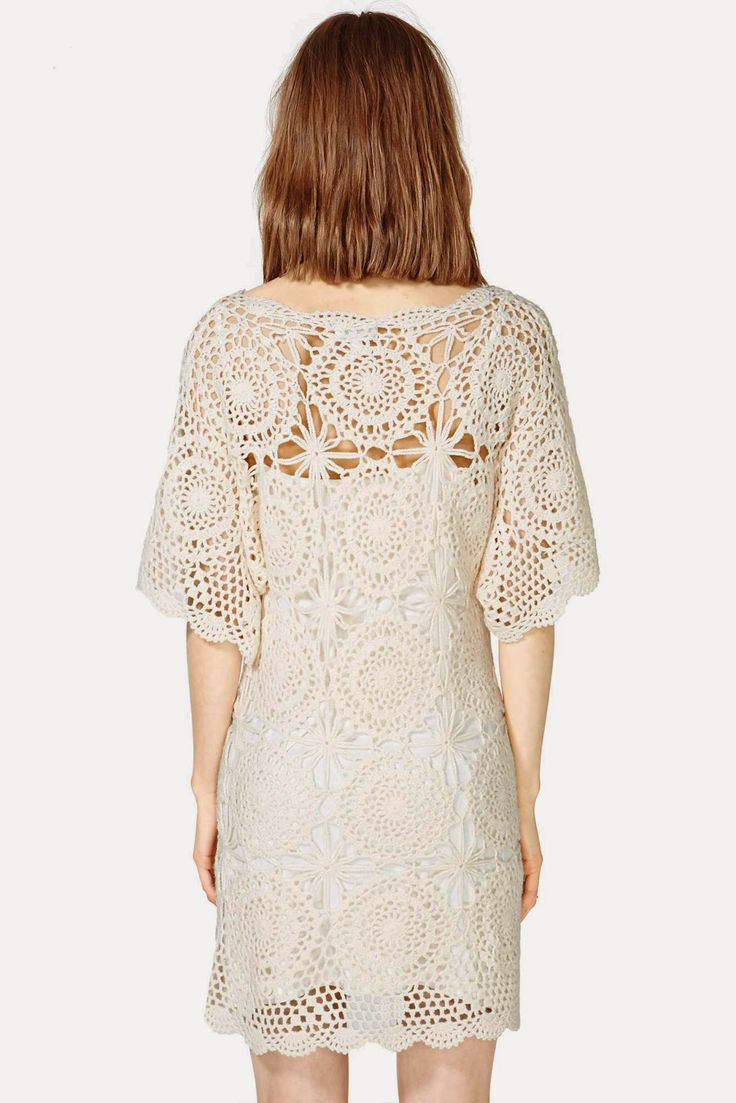 10 Best Customizao Images On Pinterest Crochet Clothes Chocochips Elaine Dress Cream Beige M Outstanding Motifs From Lucca Couture