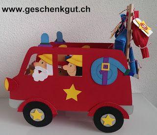 Adventskalender Feuerwehrauto Feuerwehr