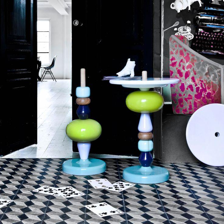 Gueridon - Shuffle table MH1 - Mia Hamborg