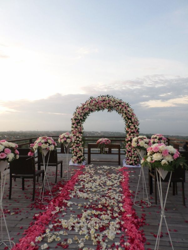 Wedding Venue at Casa Bonita in Uluwatu Bali