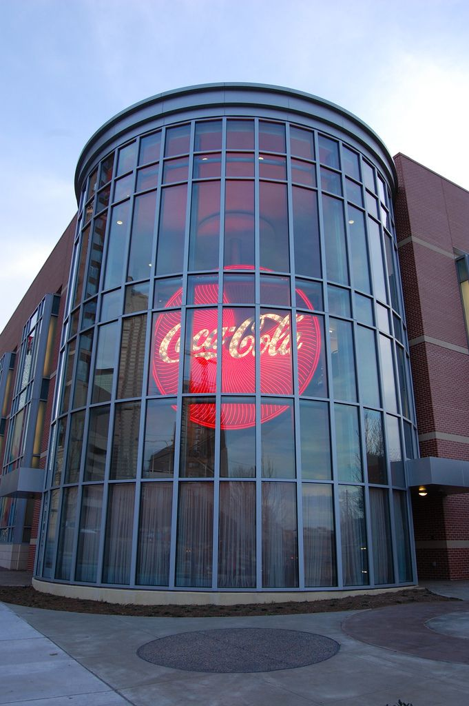 World of coke museum in Atlanta Georgia
