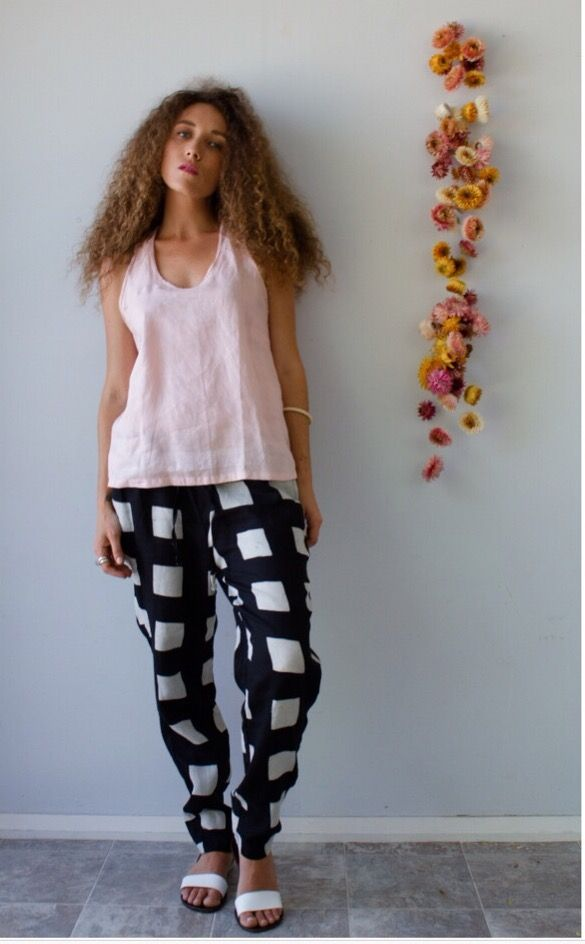 Block print pants @nortjebygeraldine in Berry NSW