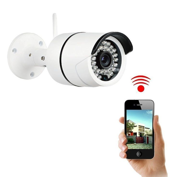 Security Camera, Sokos Bullet Camera, Megapixel Wireless Wifi HD Home IP Camera