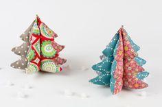 Patchwork Weihnachtsdeko Bild 1