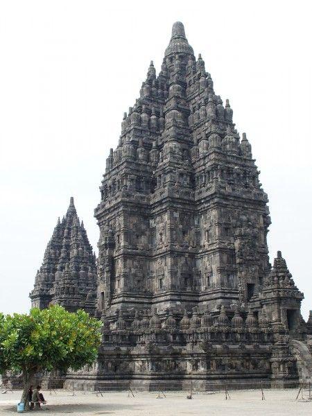 not a rocket -- Prambanan Temple, Jogjakarta, Indonesia
