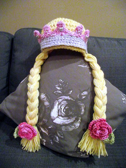 Crochet Princess Crown FREE Pattern wonderfuldiy Wonderful DIY Pretty Princess Crown