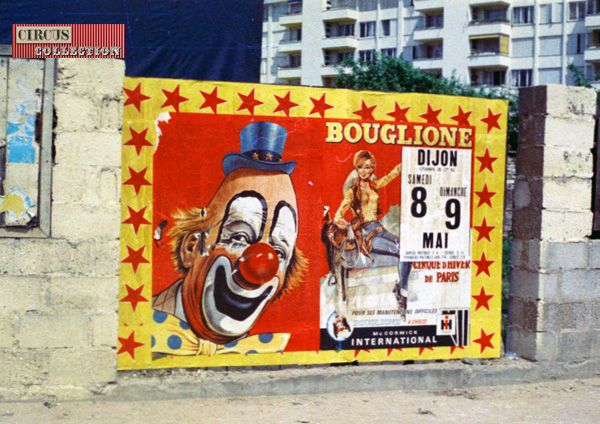 Circus collection: Cirque Bouglione 1971
