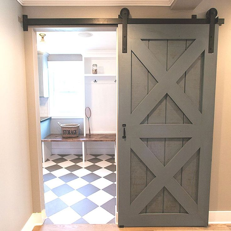 Best Bypass Barn Door Hardware Ideas On Pinterest Closet