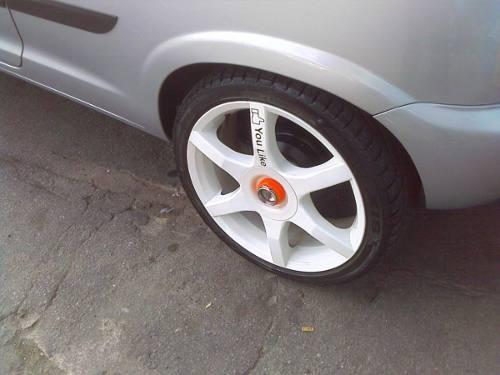 Rodas Tsw Evo R 17 Com Pneus Novos - R$ 2.600,00