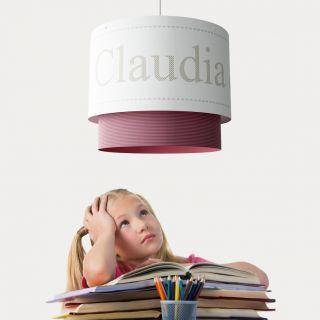 paralume (per lampade a sospensione) personabilizzabile