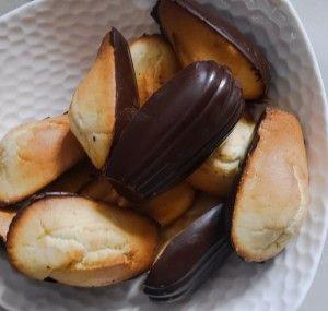 Madeleines vegan et sans gluten