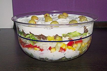 Uschis griechischer Schichtsalat 1